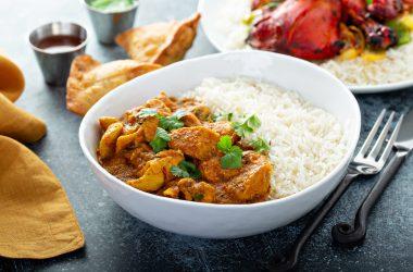 Chicken with jasmine rice