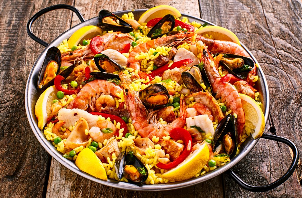 Colorful Seafood