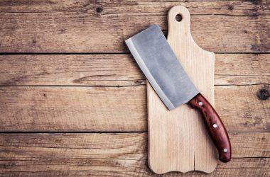 Chopping board block