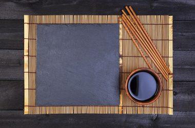 Background for sushi