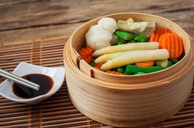 vegetables steamed