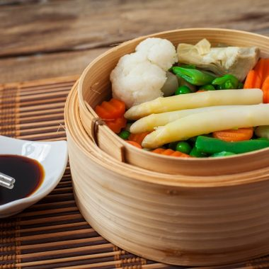 vegetables steamed
